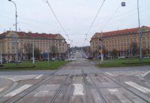 Стройка на площади Победы - Пражский Телеграф