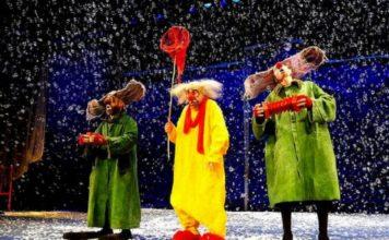 «Снежное шоу» Славы Полунина - Пражский Телеграф