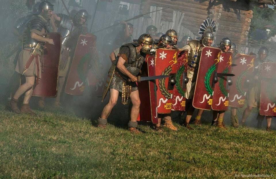 Римские легионеры в Оломоуце - Пражский Телеграф