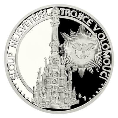 Колонна Святой Троицы в платине - Пражский Телеграф