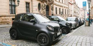 Парковка в Чехии