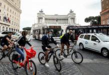 В Италии на велосипедах