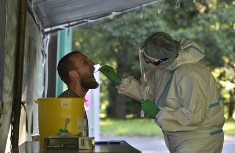 Рекордное число заболевших в Чехии