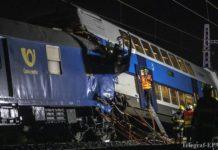 Аварии на железной дороге в Чехии