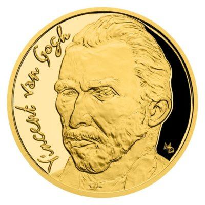 "Золотая монета ""Винсент Ван Гог"""