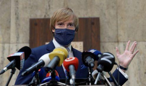 Ministr zdravotnictví Vojtěch rezignoval
