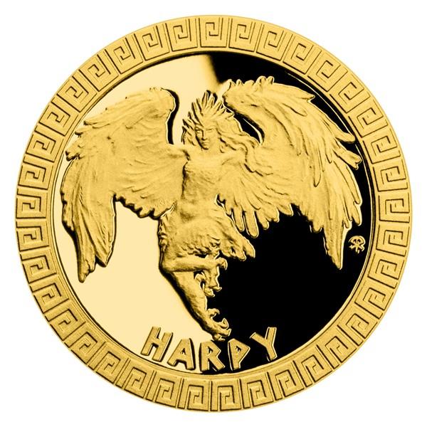 "Золотая монета ""Гарпия"""