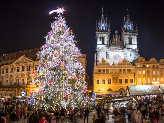 В этом году на Староместской площади не будет больших рождественских ярмарок