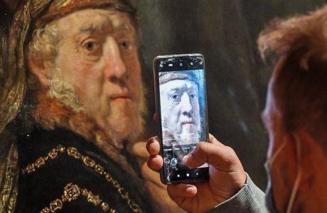 Люди смогут увидеть выставку работ Рембрандта онлайн