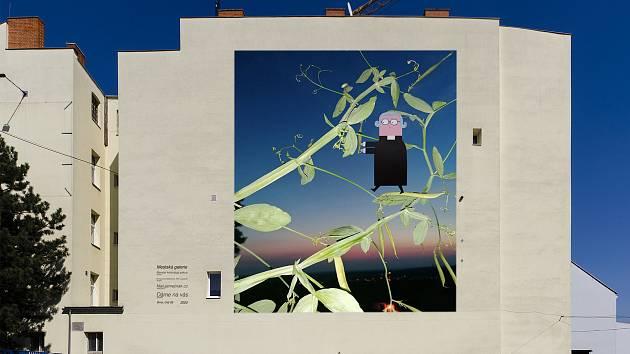 Гигантские картины будут созданы на фронтонных стенах в Брно