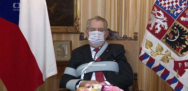Земан объявил перед командованием армии, что Россия не враг