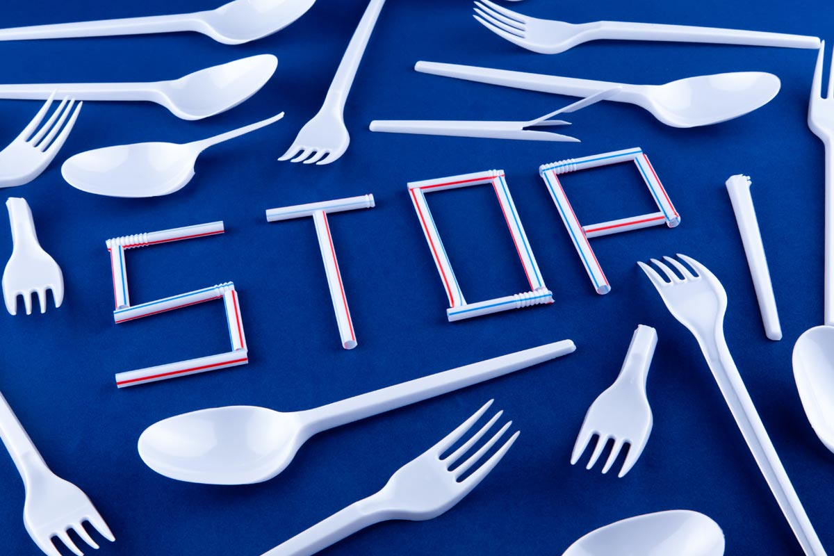 Одноразовые пластиковые стаканчики или столовые приборы должны исчезнуть. Запрет продажи поддержало правительство