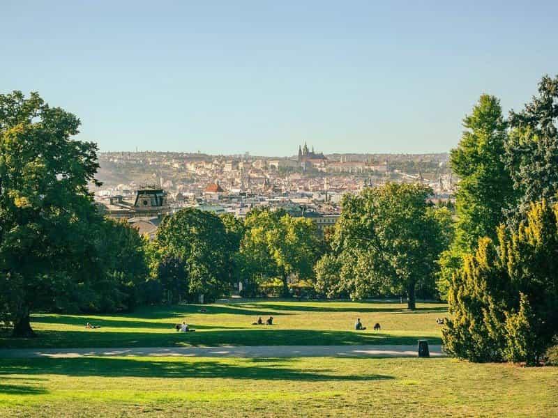 Прага - один из самых зеленых городов в мире