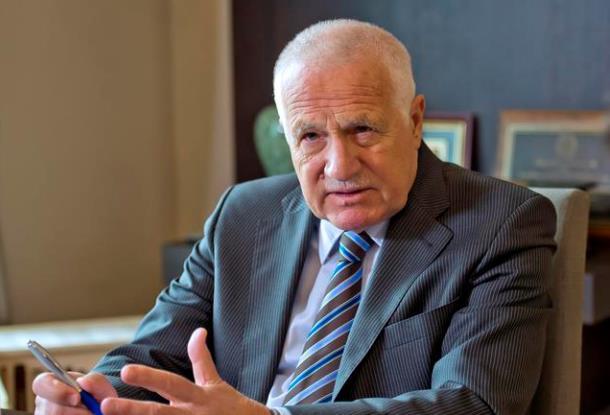 Бывший президент ЧР Вацлав Клаус